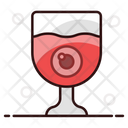 Eyeball Drink Magic Potion Toxic Liquid Icon