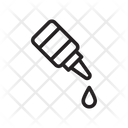 Eyedrop Dropper Medical Icon
