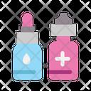 Medical Healthy Eyedropper Icon