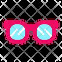 Eyeglass Cosmetics Women Icon