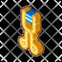 Eyelash Curlers Isometric Icon