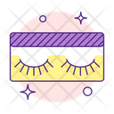 Eyelashes Makeup Cosmetic Icon