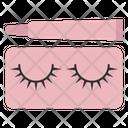 Eyelashes Eyelash Glue Icon