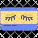 Eyeleash Female Lady Icon