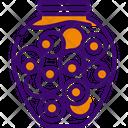 Eyes Halloween Eye Jar Icon