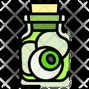 Halloween Glass Jar Icon