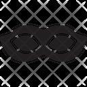 Eyes Mask Carnival Icon