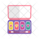 Eyeshadow Makeup Kit Icon
