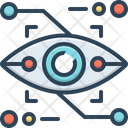 Eyetap Augmentation Gadget Reality Icon