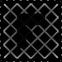 F Uppercase Latin Icon