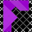 F Design Letter Icon