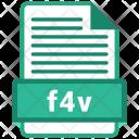 F 4 V File Format Icon