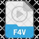 F 4 V File Icon