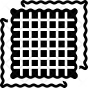 Fabric Cloth Textile Icon