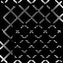 Fabric Design Embroidery Icon