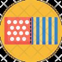 Fabric Textile Design Icon