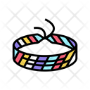Fabric Band Baubles Rubber Band Icon