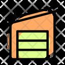 Fabric Warehouse Icon
