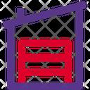 Fabric Warehouse Warehouse Storehouse Icon