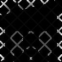 Fabric Warehouse Boxes Icon