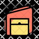 Fabric Warehouse Open Icon