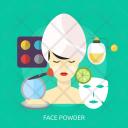 Face Powder Mask Icon