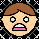 Face Shock Emotion Icon