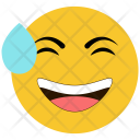 Laughing Tears Face Icon