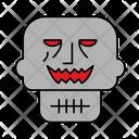 Face Halloween Mummy Icon