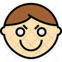 Face Confident Emoji Icon