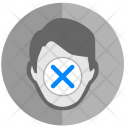Face Biometry Cancel Icon