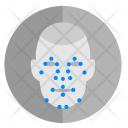 Face Biometry Complex Icon