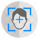 Face Biometry Detect Icon