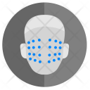 Face Biometry Skin Icon
