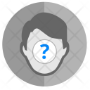 Face Biometry Unknown Icon