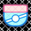 Cream Container Color Icon