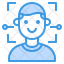 Face Detection Scan Technology Icon