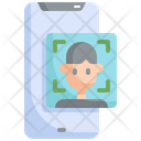 Face Detection Mobile Icon