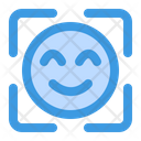 Face Detection Recognition Secure Icon