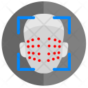 Scan Dots Map Icon