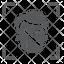 Biometric Detect Face Icon