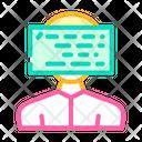 Face Identification Programming Icon