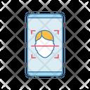 Face Lock Smartphone Icon