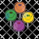 Face Lollipop Smiley Lollipop Emoticon Pops Icon