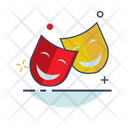 Theater Face Mask Icon