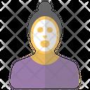Face Bleach Glow Icon