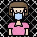 Avatar Woman Health Icon