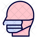 Mask Protection Safety Icon