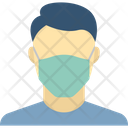 Covered Your Mouth Coronavirus Infection Dust Icon