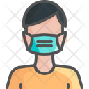 Mask Wear Face Icon